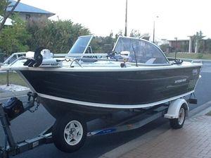 Quintrex 19' boat 2007