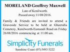 MORELAND Geoffrey Maxwell