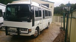 1992 nissan civilian. 4 litre, 6 cylinder, 5 speed diesel. Professionally fitted out, 295887 km, Sol...