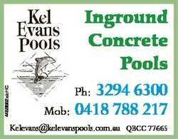 4489552abHC Inground Concrete Pools 3294 6300 Mob: 0418 788 217 Ph: Kelevans@kelevanspools.com.au QB...