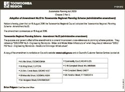 P 131 872 Sustainable Planning Act 2009 Chapter 3 Part 5 Adoption of Amendment No.13 to Toowoomba Re...