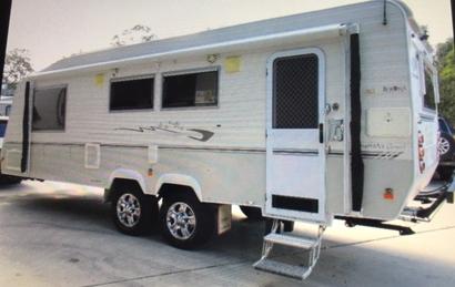 BOROMA Grandinata, 24', off road caravan, excellent condition, never taken off road,...