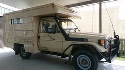 TOYOTA Land Cruiser 1990, 128,000klms, removable chassie, mounted motor home, full annex & al...