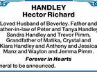 HANDLEY Hector Richard