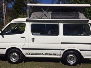 SWB Toyota Hiace Campervan