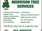 MORRISON TREE SERVICES
