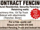 Contract Fencing