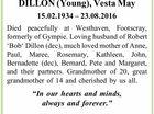 DILLON (Young), Vesta May