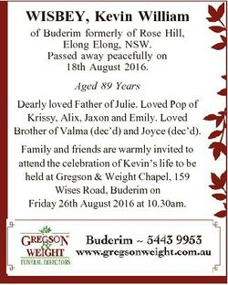 WISBEY, Kevin William of Buderim formerly of Rose Hill, Elong Elong, NSW. Passed away peacefully on...