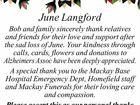June Langford