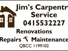 JIM'S CARPENTRY SERVICE
