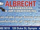 ALBRECHT REFRIGERATION & AIR CONDITIONING