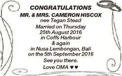 CONGRATULATIONS MR. & MRS. CAMERON HISCOX nee Tegan Stead Married on Thursday 25th August 2016 i...