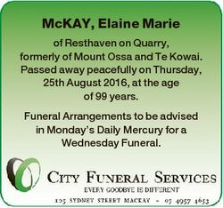 McKAY, Elaine Marie of Resthaven on Quarry, formerly of Mount Ossa and Te Kowai. Passed away peacefu...
