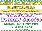 GLENN DARLINGTON ELECTRICAL