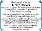 Greig Reeves