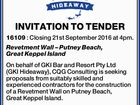 Great Keppel Island INVITATION TO TENDER