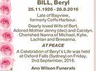 BILL, Beryl