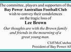 Bay Power Australian Football Club