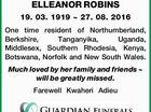 ELLEANOR ROBINS