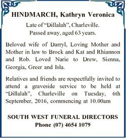"HINDMARCH, Kathryn Veronica Late of ""Dillalah"", Charleville. Passed away, aged 63 years. B..."