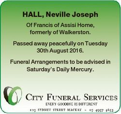 HALL, Neville Joseph Of Francis of Assisi Home, formerly of Walkerston. Passed away peacefully on Tu...