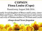 COPSON Fiona Louise (Copo)