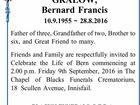 GRALOW, Bernard Francis