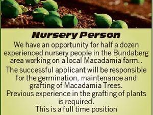 Nursery Person