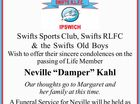 Swifts Sports Club, Swifts RLFC & the Swifts Old Boys