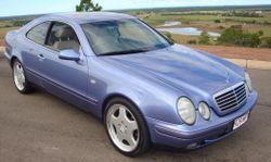 W208 CLK 320 Blue Coupe