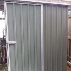garden shed singledoor