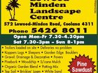 Lowood Minden Landscape Centre