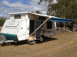 2004 Jayco Poptop Caravan, Double bed, good tyre's, full annexe, kitchen, good condition, $16...
