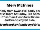 Merv McInnes