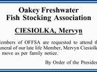 Oakey Freshwater Fish Stocking Association