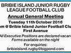 BRIBIE ISLAND JUNIOR RUGBY LEAGUE FOOTBALL CLUB