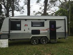 """JB 20'6"""" off-road van,   full ens, QS bed, 1st reg. 2015,   McHitch, purpose m..."""