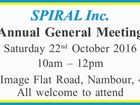 SPIRAL Inc. Annual General Meeting