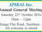SPIRAL Inc. Annual General Meeting