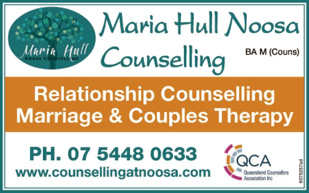Maria Hull Noosa Counselling BA M (Couns)