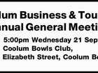 Coolum Business & Tourism Annual General Meeting