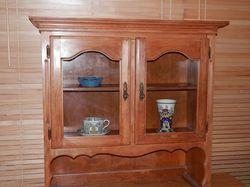 new 90 X32 X97 h, beaut nat.grain wood. fittings,assist w local del,
