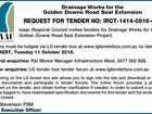 REQUEST FOR TENDER
