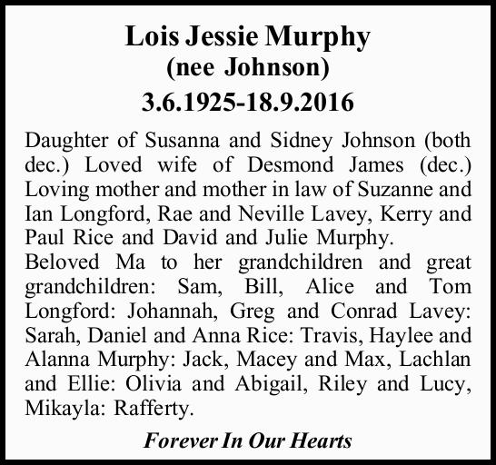 3.6.1925-18.9.2016