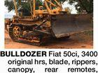 Fiat 50ci Bulldozer