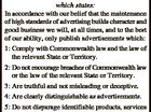 As a Member of the Australian Publishers' Bureau we fully support the Bureau's ADVERTISING CODE OF PRACTICE which states: Warwick Newspaper Pty Ltd 1101531AA In accordance with our belief that the maintenance of high standards of advertising builds character and good business we will, at all times, and to ...
