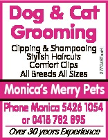 Clipping & Shampooing Stylish Haircuts Comfort Clips All Breeds All Sizes 2770467aaH Dog & C...