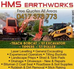 0417 373 773 5947613abHC Free Quotes All Areas *TRACK BOBCAT * 5T EXCAVATOR * TIPPERS * 5T ROLLER La...
