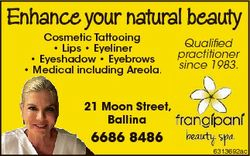 Enhance your natural beauty Cosmetic Tattooing * Lips * Eyeliner * Eyeshadow * Eyebrows * Medical in...